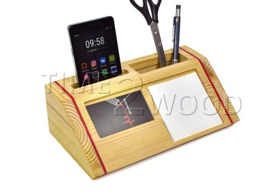 0064_Wood_Desk_Organizer_Nastol'niy_Organaizer_iz_Dereva_time2wood