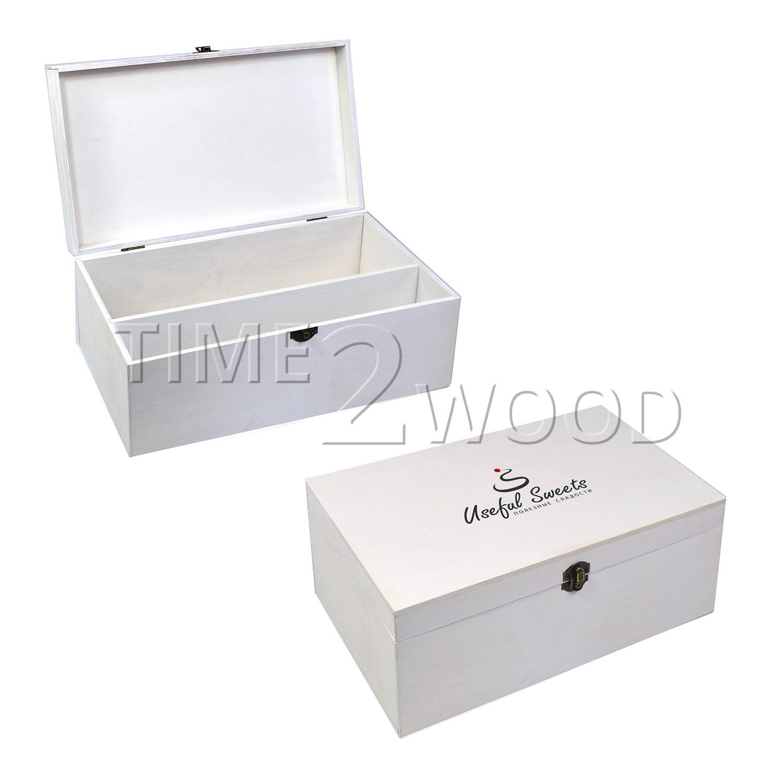 Белая коробка-книжка Useful Sweets