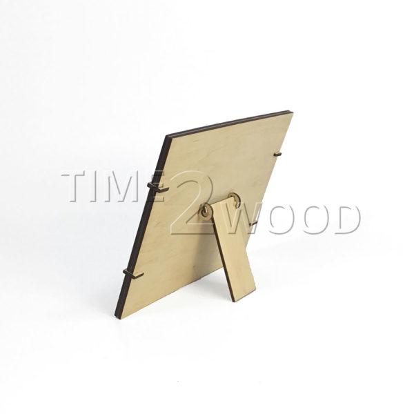 Wood_Photo_Frame_with_print_Derevyannaya_Fotoramka_s_pechat'ju_time2wood