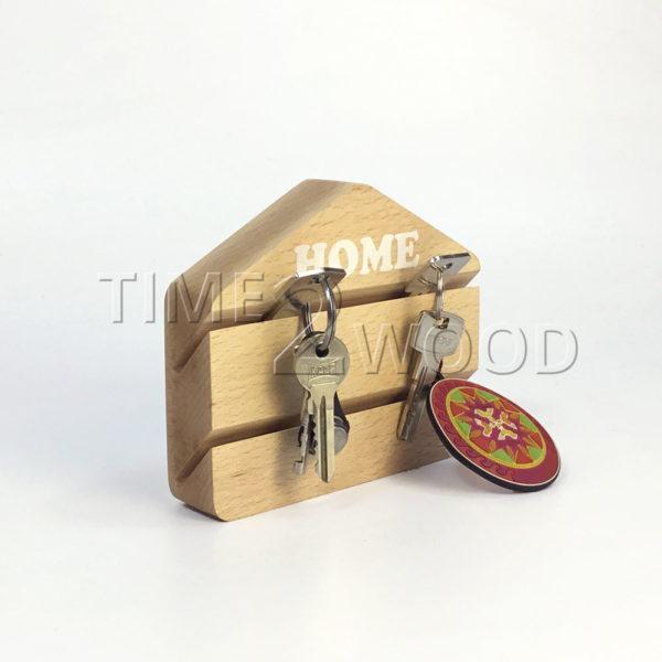_Nastennaja_kljuchnica_iz_dereva_s _pechat'ju_wall-mounted_Beech_Key_Holder_with_Print_time2wood