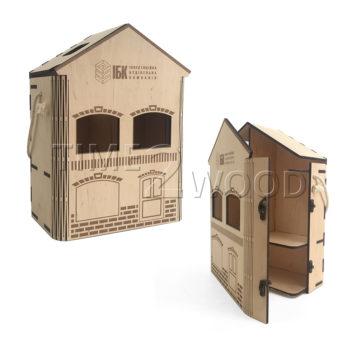 Коробка-домик ИБК