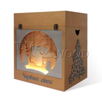 Подарочный ящик SUPER EVENTS с подсветкой